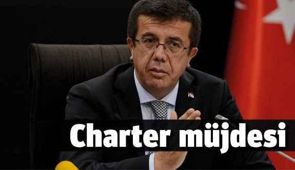 'Charter uçuşları erken başlayabilir'