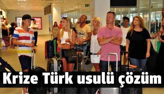 Krize Türk usulü çözüm