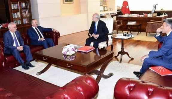 Çavuşoğlu'nun muhalefet turunda İsrail anlaşması konuşuldu