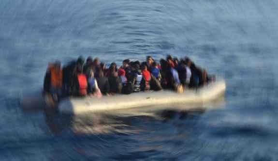 74 kaçak göçmen yakalandı