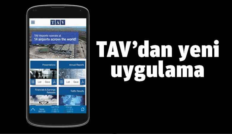 TAV'dan yeni uygulama