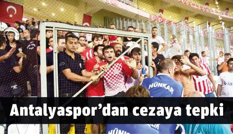Antalyaspor'dan cezaya tepki