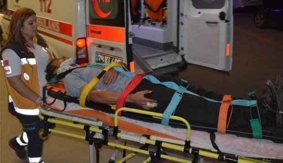 İki işçi servisi çarpıştı: 14 yaralı