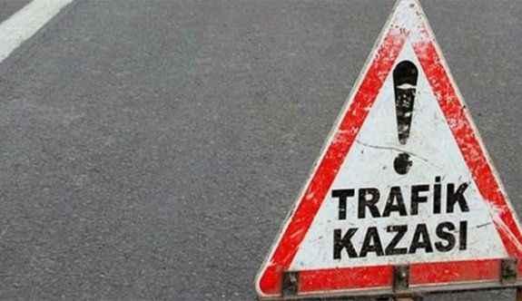 Düğün konvoyunda kaza: 2 yaralı