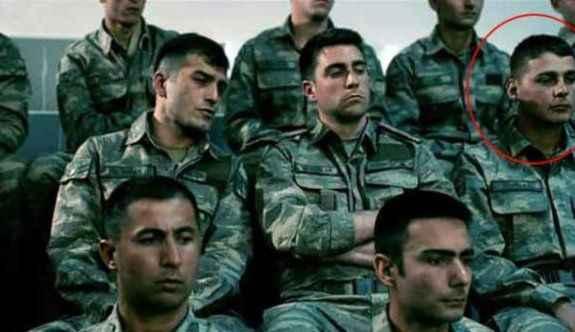 Şehit asker o filmde oynamış!