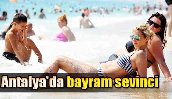 Antalya'da bayram sevinci