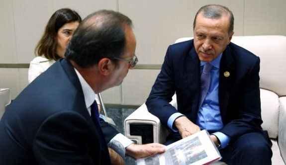 Erdoğan'dan, Hollande'a 15 Temmuz kitabı