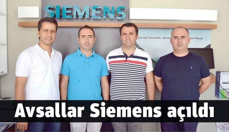 Avsallar Siemens açıldı