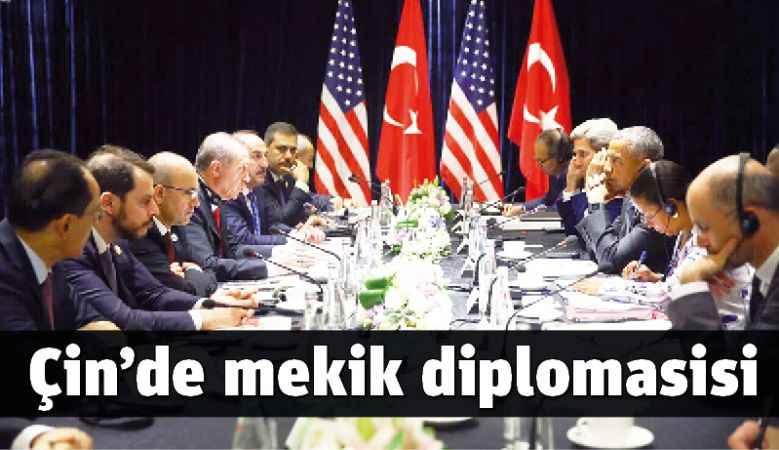 Çin'de mekik diplomasisi