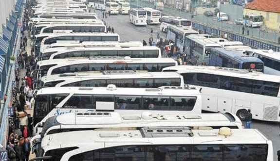 Bayram döneminde otobüs biletleri tükendi