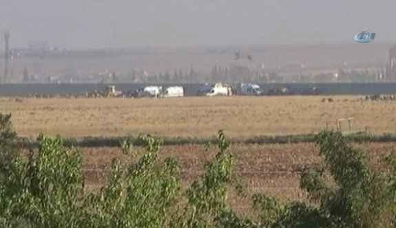 Suriye sınırında hareketli dakikalar