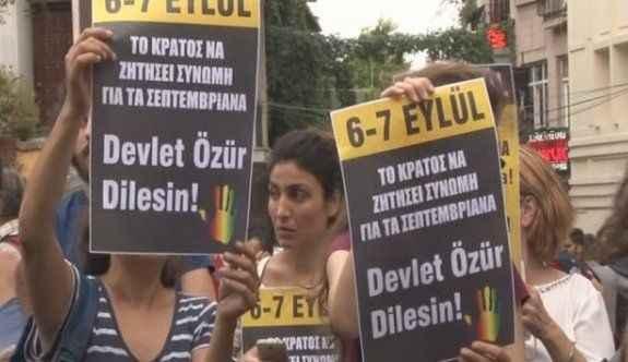 O olaylar protesto edildi