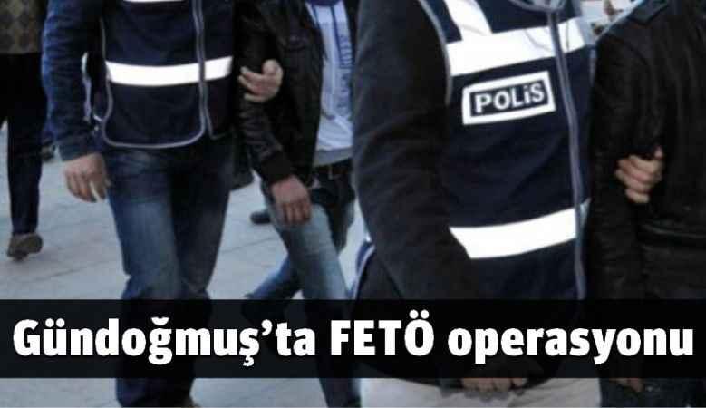 Gündoğmuş'ta FETÖ operasyonu