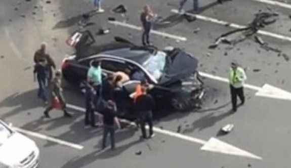 Putin'in makam aracı kaza yaptı: Şoför öldü