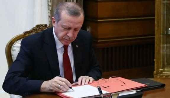 Cumhurbaşkanı Erdoğan, 6745 sayılı kanunu onayladı