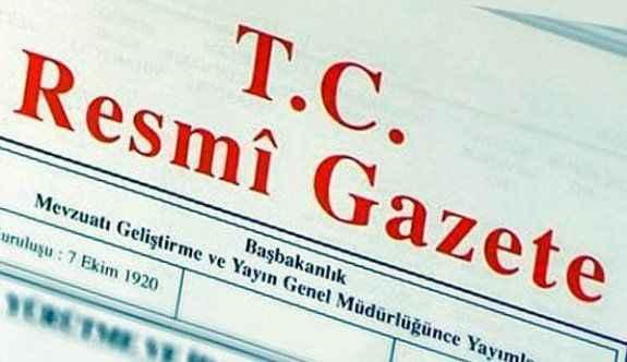 Kritik atama kararları Resmi Gazete'de