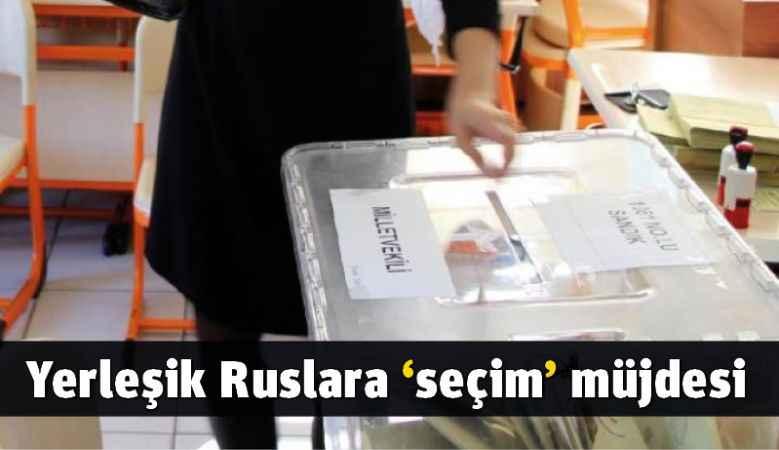 Yerleşik Ruslara 'seçim' müjdesi