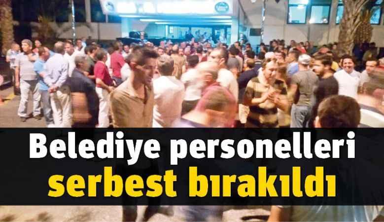 Alanya Belediyesi personelleri serbest bırakıldı