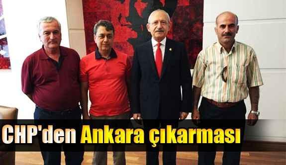 CHP'den Ankara çıkarması