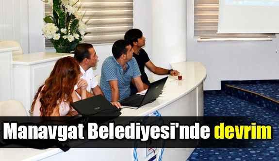 Manavgat Belediyesi'nde devrim