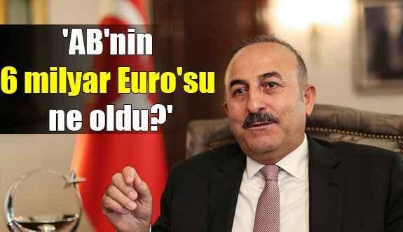 'AB'nin 6 milyar Euro'su ne oldu?'