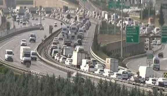 Trafik kabusu başladı