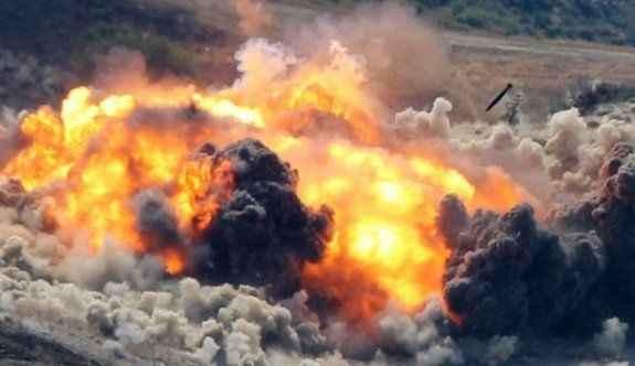 Kuzey Irak'ta hedefler havadan vuruldu