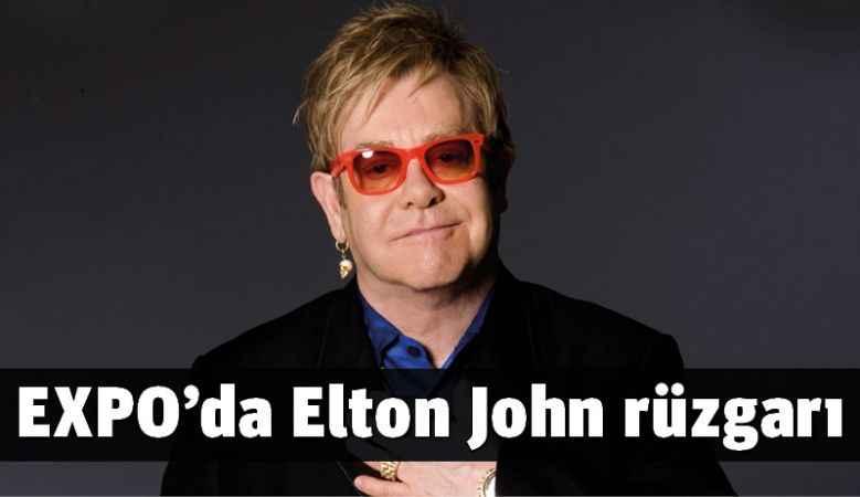 EXPO 2016 Antalya'da Elton John konseri