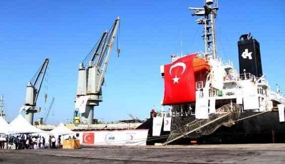 Türkiye'den 11 ton yardım
