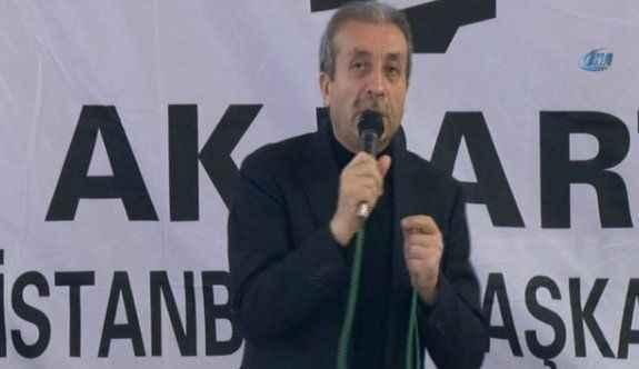 Mehdi Eker: 'Vahşi bir teşebbüs'