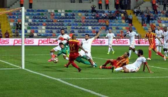 Galatasaray deplasmanda berabere kaldı