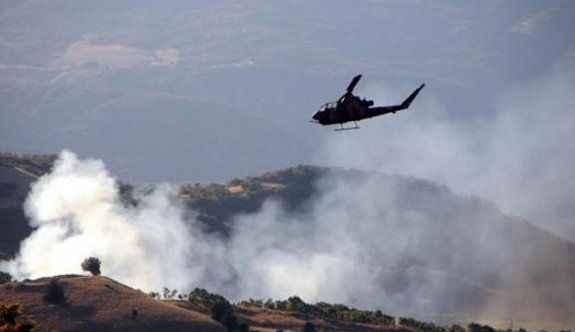 Bombalı saldırı yapan PKK'lılara operasyon