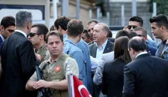 Erdoğan Polis Merkezi'ni ziyaret etti