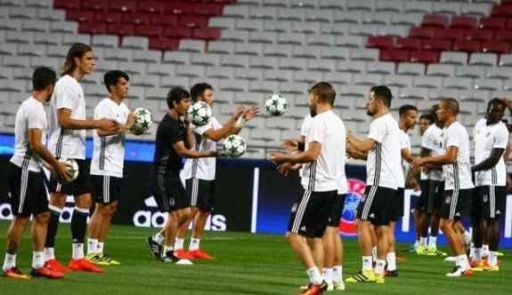 Benfica maçı hazırlıklarını tamamladı