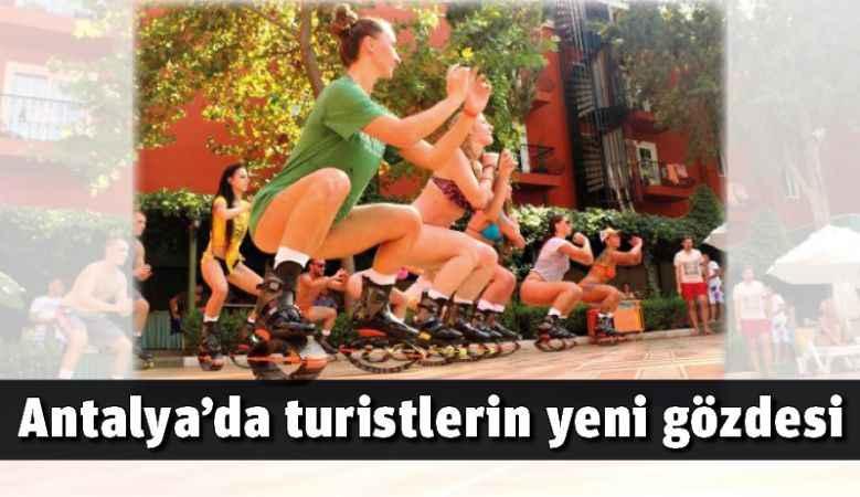 Antalya'da turistlerin yeni gözdesi