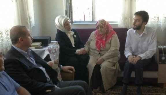 Erdoğan 15 Temmuz şehit ailelerini ziyaret etti