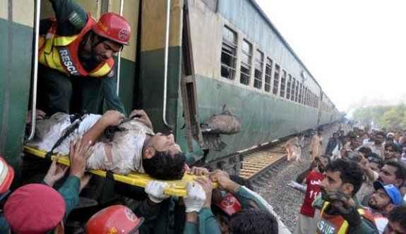 Tren kazası! Ölü ve yaralılar var