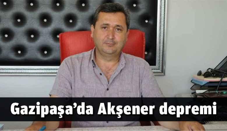 Gazipaşa'da Akşener depremi