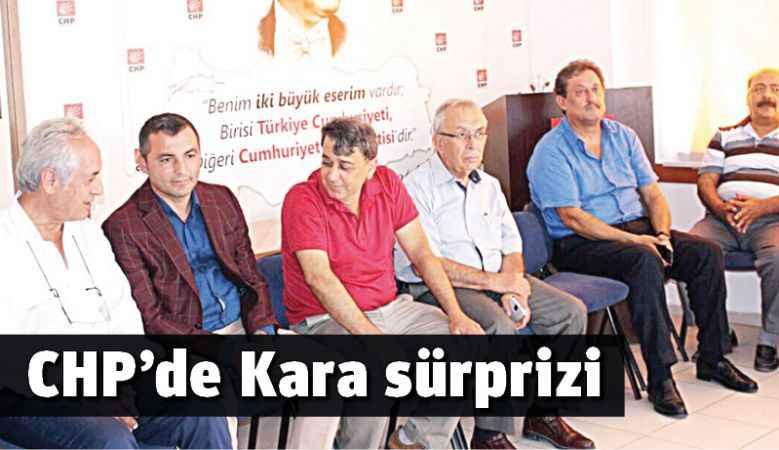 CHP'de Kara sürprizi