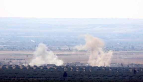 IŞİD hedefleri tank ve uçaklarla vuruluyor