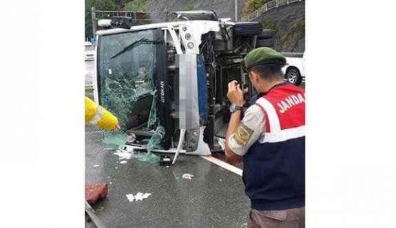 Trafik kazası: 24 yaralı