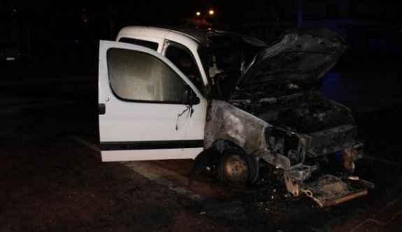 1 saat içinde 7 araç yandı