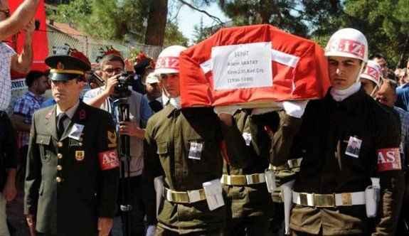 Şehit Uzman Çavuş Akatay'ı 5 bin kişi uğruladı