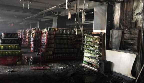 AVM yandı: Zarar milyonları geçti