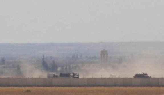 IŞİD saldırınca yoğun top atışı altında kaldı