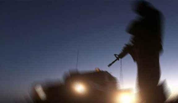 Çatışma çıktı: 1 asker yaralandı