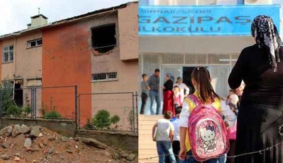 PKK'nın tahrip ettiği okulda eğitim başladı