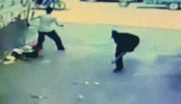 Sokakta çatıştılar: 1 yaralı