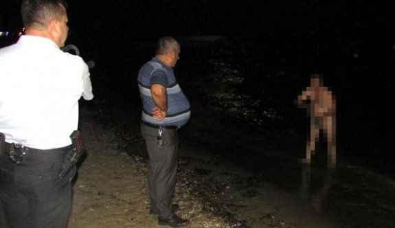 Kamyon şoförü denizde böyle yakalandı!