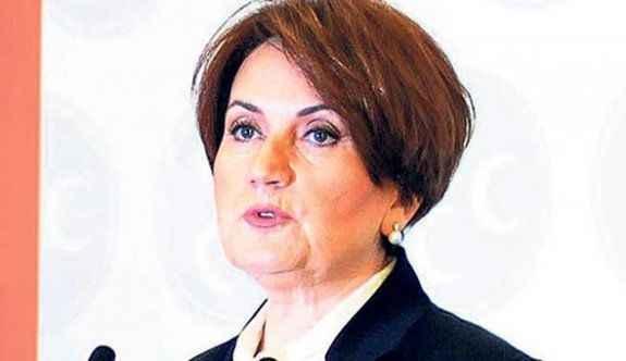Meral Akşener 'beni alın' demiş